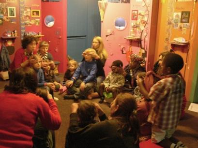 Ambiance chaleureuse pour petits et grands enfants